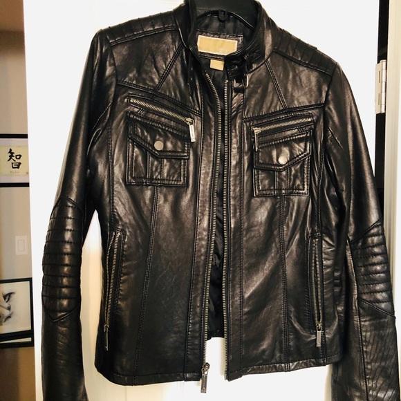 Michael Kors Jackets & Blazers - Michael Kors leather jacket. Perfect condition!